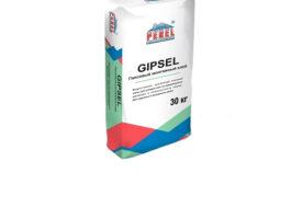 Гипсовый клей GIPSEL для монтажа ПГП, ГКЛ, ГВЛ, 25 кг