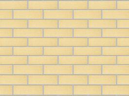 Клинкерная фасадная плитка Экоклинкер Ваниль, гладкая