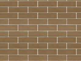 Клинкерная фасадная плитка Экоклинкер Шоколад, скала