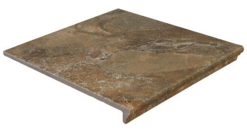 Фронтальная клинкерная ступень Ceramica Mayor Sea Rock Toffee