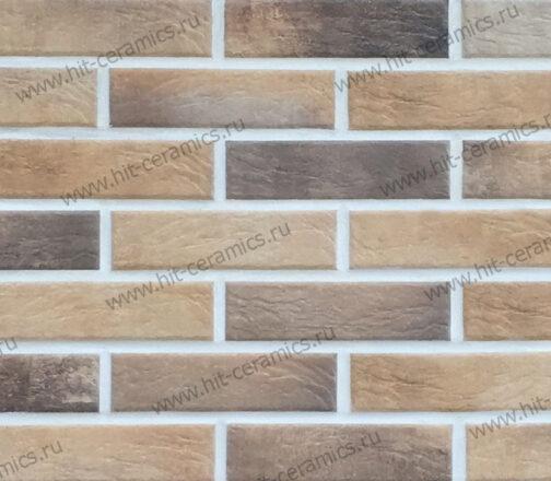 Фасадные термопанели с клинкерной плиткой Loft Brick Masala