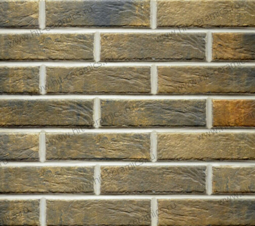 Клинкерная фасадная плитка под кирпич Loft Brick Cardamon 240*65*8 мм