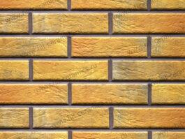 Клинкерная фасадная плитка под кирпич Loft Brick Curry 240*65*8 мм