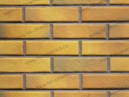 Клинкерная фасадная плитка под кирпич Retro Brick Curry 240*65*8 мм