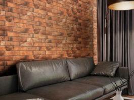 Клинкерная фасадная плитка под кирпич Piatto Red 300*74*9 мм