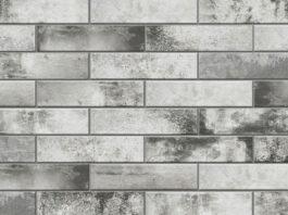 Клинкерная фасадная плитка под кирпич Piatto Grys 300*74*9 мм