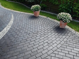 Тротуарная клинкерная брусчатка Vandersanden Meissen, 200*100*45 мм