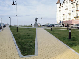 Тротуарная клинкерная брусчатка Vandersanden Kamenz