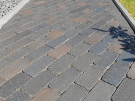 Тротуарная клинкерная брусчатка Vandersanden Meissen antica, 200*100*52 мм