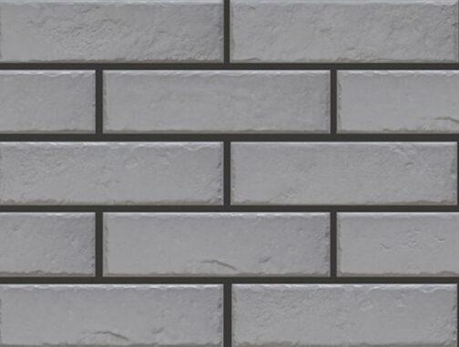 Клинкерная фасадная плитка под кирпич Foggia gris 245*65*8 мм