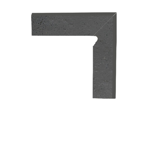 Цоколь структурный правый/левый Paradyz Semir Grafit