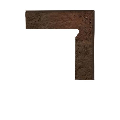 Цоколь структурный правый/левый Paradyz Semir Brown