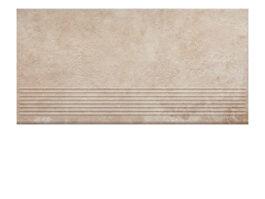 Фронтальная клинкерная ступень простая Paradyz Scandiano Ochra, 300*600*11 мм