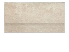 Фронтальная клинкерная ступень простая Paradyz Scandiano Beige, 300*600*11 мм