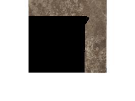 Цоколь структурный правый/левый Paradyz Ilario Brown, 300*81*11 мм