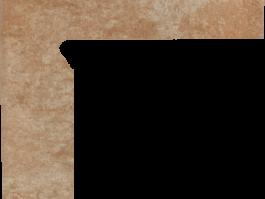 Цоколь структурный правый/левый Paradyz Ilario Ochra, 300*81*11 мм