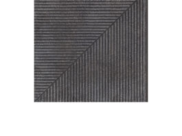 Угловая клинкерная ступень простая Paradyz Bazalto Grafit, 300*300*11 мм