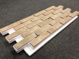 Фасадные термопанели с клинкерной плиткой Taurus Grys
