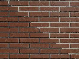 Клинкерная фасадная плитка под кирпич ABC Braun Schieferstruktur, 240*52*7 мм