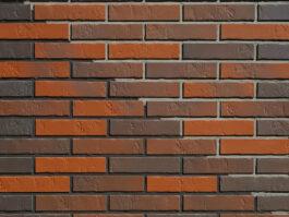 Клинкерная фасадная плитка под кирпич ABC Naturbrand Schieferstruktur, 240*52*7 мм