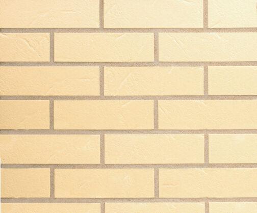 Клинкерная фасадная плитка под кирпич ABC Alaska Beige Genarbt