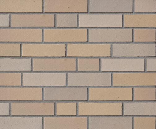 Клинкерная фасадная плитка под кирпич ABC Elmshorn-Ockergrau