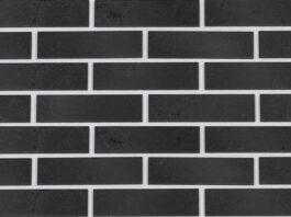 Клинкерная фасадная плитка под кирпич Paradyz Semir Grafit