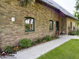Клинкерная фасадная плитка Feldhaus Klinker R690 Sintra ardor blanca NF14