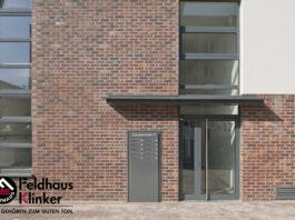Клинкерная фасадная плитка Feldhaus Klinker R769 Vascu cerasi legoro NF14