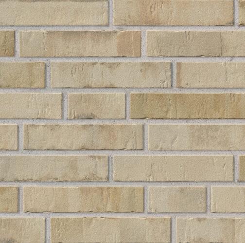 Клинкерная плитка под кирпич Stroeher Kontur CG 480 beigebrand