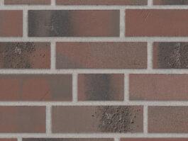 Клинкерная плитка под кирпич Stroeher Brickwerk 655 violettrot