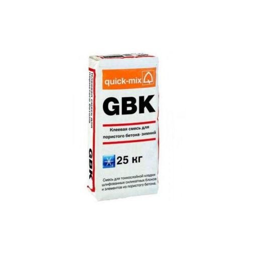 Клеевая смесь для пористого бетона GBK зима