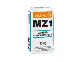 Цементная штукатурка для машинного нанесения MZ 1 h, гидрофобная