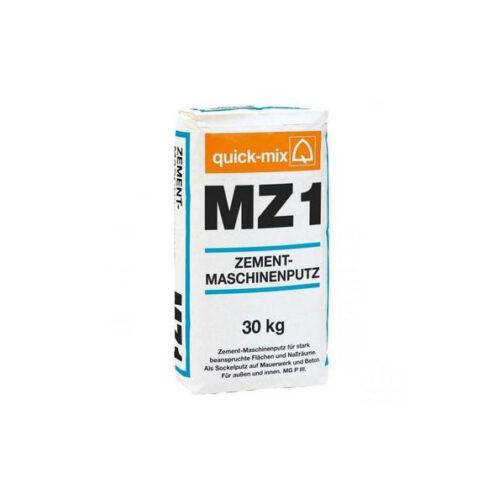 Цементная штукатурка для машинного нанесения MZ 1 h