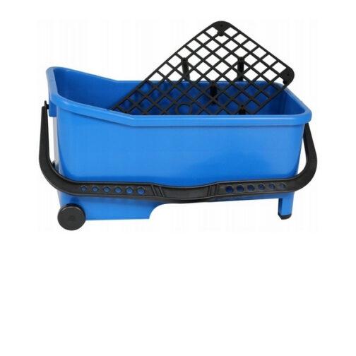 Ведро пластиковое на колесах 20л + сетка для отжима