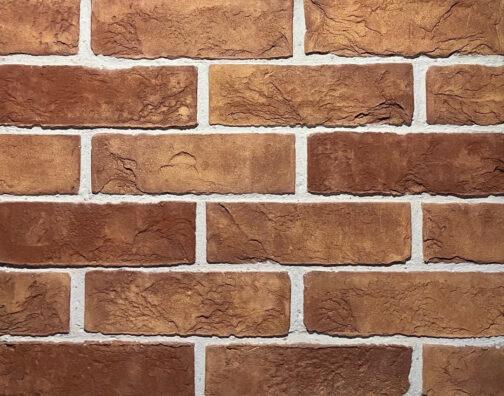 Облицовочный камень под кирпич ручной формовки TB-50-51