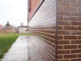 Клинкерная фасадная плитка под кирпич Paradyz Natural Brown Duro