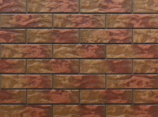 Фасадные термопанели с клинкерной плиткой Colorado Rustic