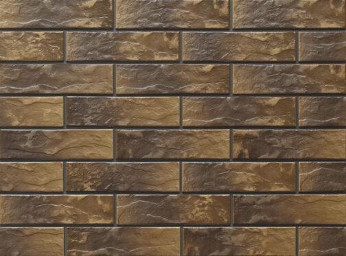 Фасадные термопанели с клинкерной плиткой Montana Rustic