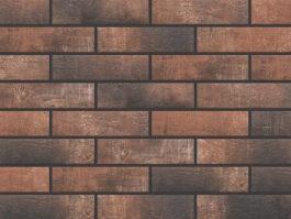 Клинкерная фасадная плитка под кирпич Loft Brick Chili 240*65*8 мм