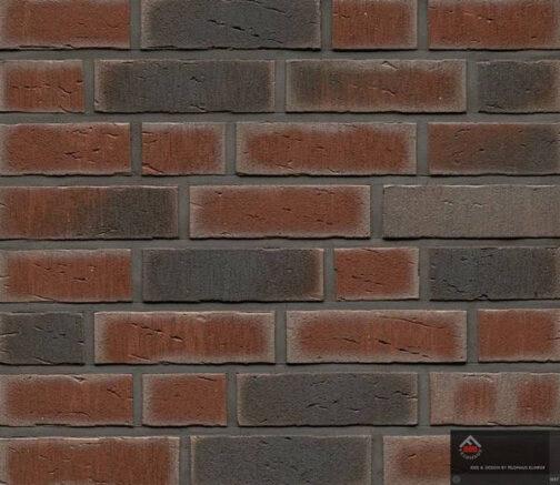 Клинкерная фасадная плитка Feldhaus Klinker R770 Vascu cerasi venito NF14