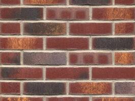 Фасадные термопанели с клинкерной плиткой Feldhaus Klinker R769 Vascu cerasi legoro