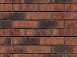 Фасадные термопанели с клинкерной плиткой Feldhaus Klinker R767 Vascu terracotta locata