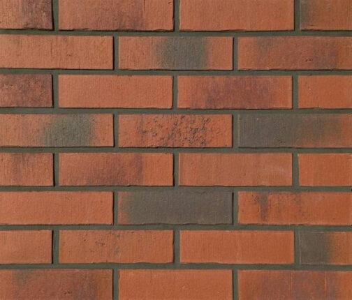 Клинкерная фасадная плитка Feldhaus Klinker R754 Vascu carmesi carbo NF14