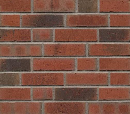 Фасадные термопанели с клинкерной плиткой Feldhaus Klinker R752 Vascu ardor carbo