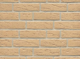 Фасадные термопанели с клинкерной плиткой Feldhaus Klinker R692 Sintra crema
