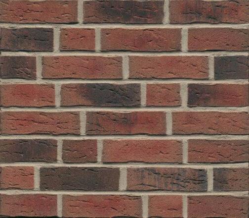 Фасадные термопанели с клинкерной плиткой Feldhaus Klinker R685 Sintra carmesi nelino