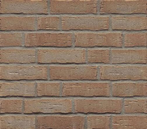 Клинкерная фасадная плитка Feldhaus Klinker R681 Sintra terracotta bario NF14