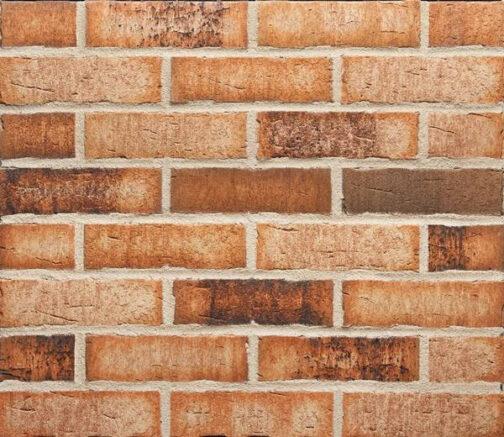 Фасадные термопанели с клинкерной плиткой Feldhaus Klinker R665 Sintra sabioso binaro