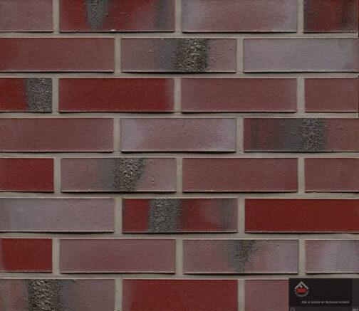 Клинкерная фасадная плитка Feldhaus Klinker R563 Carbona ardor rutila